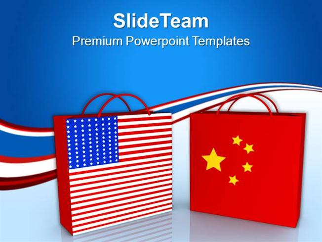 Usa and china shopping bags sales powerpoint templates ppt themes usa and china shopping bags sales powerpoint templates ppt themes authorstream toneelgroepblik Choice Image