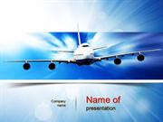Jet Aircraft PowerPoint Template
