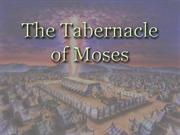 The Tabernacle and God's Tripartite Purpose