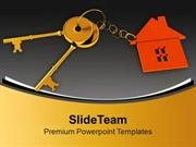 Golden Keys For Home Security PowerPoint Templates PPT Themes And Grap