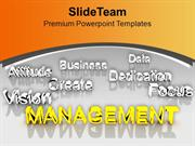 Management At Forefront Presentation PowerPoint Templates PPT Themes A