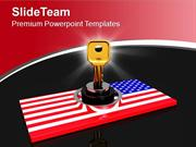 National Security Of America Protection PowerPoint Templates PPT Theme