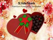Chocolate Gift Box For Valentines Day PowerPoint Templates PPT Themes