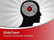 Man Showing His Brain Complexity PowerPoint Templates PPT Themes And G