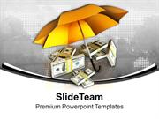 Protecting Money For Future PowerPoint Templates PPT Themes And Graphi
