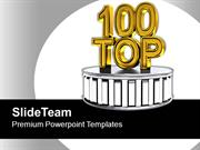 Top 100 Best Award Winning Podium PowerPoint Templates PPT Themes And