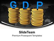 Gross Domestic Product Strategy PowerPoint Templates PPT Themes And Gr