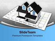 Rise In Prices Of Real Estate Chart PowerPoint Templates PPT Themes An