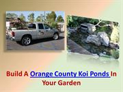 Orange County Koi Ponds