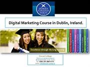 Dorset College-Digital Marketing course Dublin, Ireland