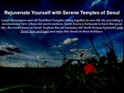 Rejuvenate Yourself with Serene Temples of Seoul