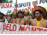 Brazil - Indigenous Protest against Belo Monte Dam