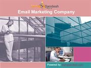 Email Marketing Company