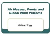 Weather Forecasting and Air masses-1