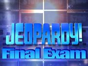 Final Exam Jeopardy Review PowerPoint
