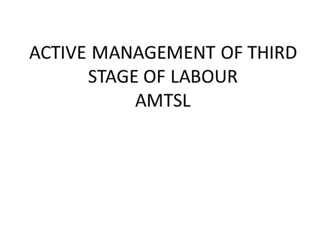 stage of labour
