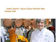Nadia Santini- Veuve Cliquot World's Best Female Chef