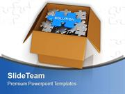 Solution In Carton Box Business PowerPoint Templates PPT Themes And Gr