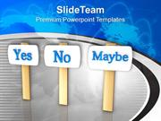 Confusion In Decision Making Business PowerPoint Templates PPT Themes