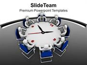 Time Bound Conference Business Meeting PowerPoint Templates PPT Themes