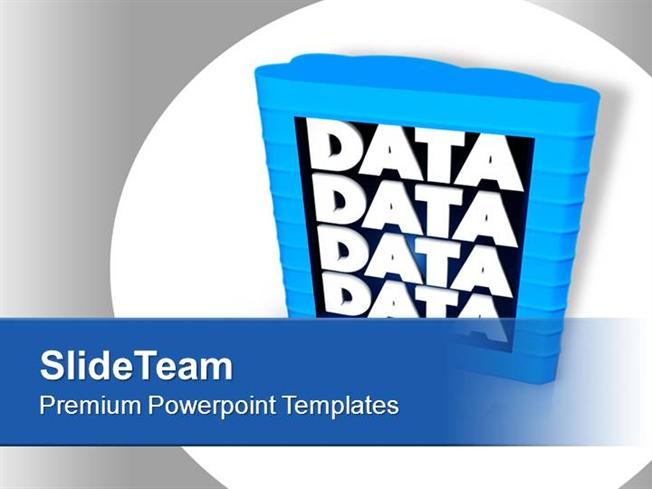 Computer Data Storage Business Strategy Powerpoint Templates Ppt T