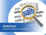 Focusing On Quality Business Management PowerPoint Templates PPT Theme