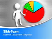 Illustration Of Business Statistical Presentation PowerPoint Templates