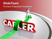 Way To Career Success Future PowerPoint Templates PPT Backgrounds For