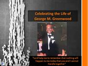 Granddaddy George Celebration Presentation