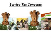 service tax best presentation