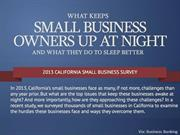 what keeps small business owners up at night