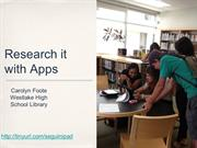 Appsforresearch seg