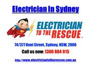 Electrician In Sydney | Call 1300 884 915