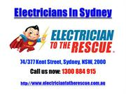 Electricians In Sydney | Call 1300 884 915