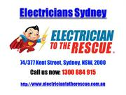 Electricians Sydney | Call 1300 884 915