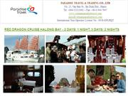 RED DRAGON CRUISE HALONG BAY - 2 DAYS/ 1 NIGHT, 3 DAYS/ 2 NIGHTS