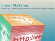Internet Marketing -  Management for Business Empowerment