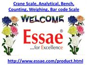 Crane Scale, Analytical Scale, Bench Scale, Counting Scale, Weighing S