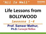 1-4 Life Lessons from Bollywood