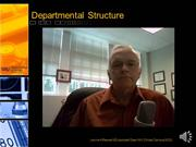 Faculty development Video 5 Departmental organization