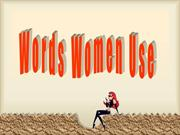 words women use