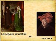 les poux arnolfini de Jan Van Eyck