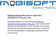 Iphone application development Houston