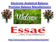 Electronic Analytical Balance, Precision Balance Manufacturers