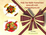 Buy Rakhi Gifts Online Send Rakhi to India with free shipping.