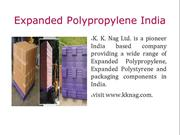Expanded Polypropylene India
