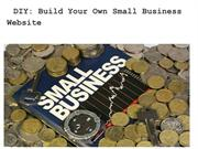 DIY- Build Your Own Small Business Website