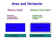 Area and Perimeter