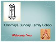 Chinmaya Sunday Family School