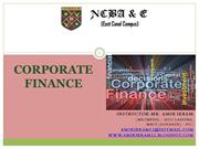 Corporate Finance; Capital Budgeting techniques (6)